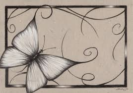 zindy zone dk coloured paper drawings butterfly of august