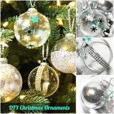 diy ideas decorate clear ornaments creative juice
