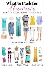 Hawaii Travel Bed For Toddler images What to pack for hawaii perfect hawaii outfits packing list png