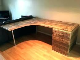L Shaped Desk Designs Rustic L Shaped Desk Outstanding Business Grain Designs For