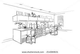 office sketch stock images royalty free images u0026 vectors