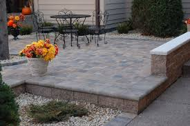 Raised Patio Pavers Stunning Raised Paver And Walks Picture Of Patio Concept Keter