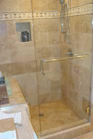 Glass Shower Doors Nashville by Bathroom Simple Corner Frameless Shower Door For Small Shower