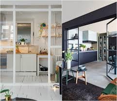 verriere coulissante pour cuisine cuisine avec verrière pour cloisonner l espace avec style sans le fermer