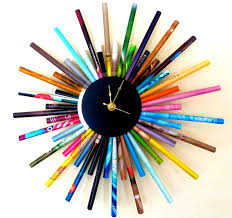 bedroom engaging extremely creative handmade wall clocks style