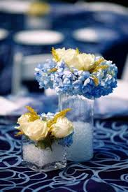 Blue Wedding Centerpieces by 119 Best Blue And Yellow Wedding Ideas Images On Pinterest