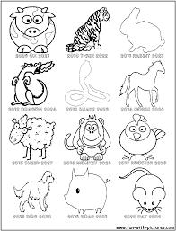 zodiac coloring page