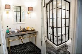 gold bathroom ideas gold and black bathroom ideas plus white macerino acrylic bathtub