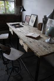 bureau poste de travail bureau industriel poste de travail metal et bois desks