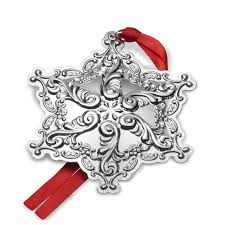 wallace grande baroque snowflake 2017 wallace ornament