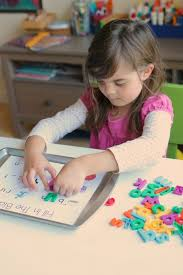 5 ways to use magnetic letters u0026 free printables no time for