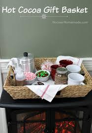 hot chocolate gift basket hot cocoa gift basket inspiration hoosier