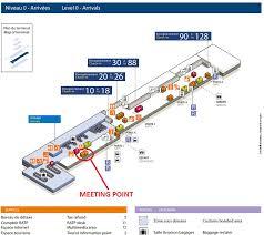 bureau de change orly les lieus de ramassage à l aéroport