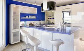 Color Combination With White Modern Kitchen With Soft Blue And White Color Combination With