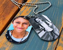 photo engraved dog tags custom photo dog tags personalized dog tags nations photo lab