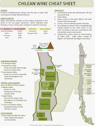 Ohio Winery Map by Chile Wine Regions Cheat Sheet Map By Clear Lake Wine Tasting