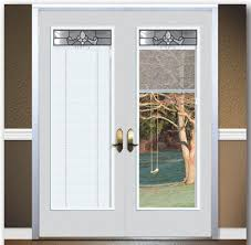 French Outswing Patio Doors by 5 U0027 French Patio Doors With Blinds Decor U0026 More Pinterest