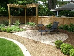 Tiered Backyard Landscaping Ideas Exterior Simple Lawn Garden Images Landscape Ideas For Small