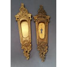 antique pocket door hardware