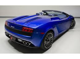 Lamborghini Gallardo Blue - 2012 lamborghini gallardo lp 550 2 spyder for sale in nashville