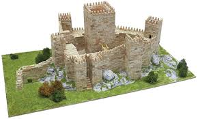 architectural model kits aedes ars guimaraes castle building construction kits aed1013