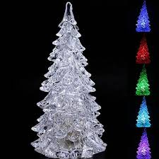 christmas tree shaped lights 2018 wholesale new year mini type crystal christmas tree shaped