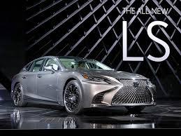 lexus ls look 2018 lexus ls ny daily