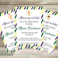 mardi gras babies mardi gras baby shower invitations yourweek d66406eca25e