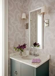 Wallpapered Bathrooms Ideas 122 Best Bathrooms Images On Pinterest Room Bathroom Ideas And