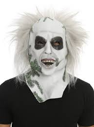 latex halloween mask kits beetlejuice latex mask topic
