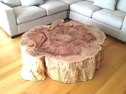 wood stump coffee table tree stump coffee table lovely coffee table tree stump end tables