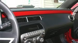 2010 camaro interior 2010 2014 5th generation camaro painted door dash panel inserts