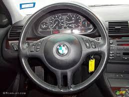 bmw 325i steering wheel 2004 bmw 3 series 325i sedan black steering wheel photo 60191355