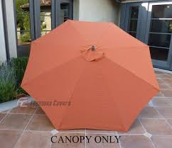 Market Patio Umbrella Market Patio Umbrella Replacement Cover Canopy 8 Ribs Terra Cotta