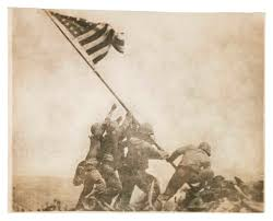 Iwo Jima Flag Raising Staged Exhibition U0027war Photography Images Of Armed Conflict And Its