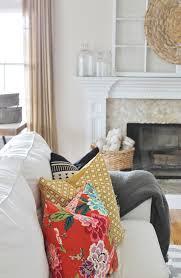 Family Room Vs Living Room by Diy Sharpie Pillow U0026 Fall Family Room City Farmhouse