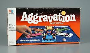 102 431 aggravation the classic marble race game board game
