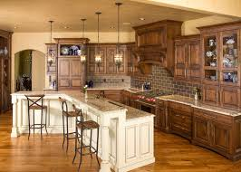 Knotty Alder Cabinet Doors by Knotty Alder Cabinets For A Contemporary Kitchen With A Coffee