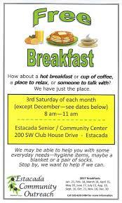 eco site eco u2013 free breakfast u2013 clackamas valley baptist church u2013 official