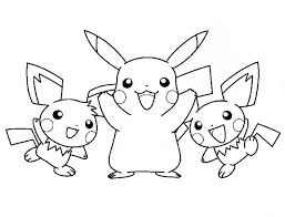 free coloring pages pikachu coloring