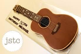 jemma u0027s sweet treat catering acoustic guitar cake