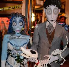 Halloween Costumes Bride Groom Handmade Tim Burton U0027s Corpse Bride Costumes Threads