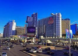 Las Vegas Strip Hotel Map by Ballys Las Vegas