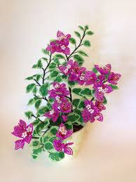 1495 best beaded 3d flowers u0026 trees images on pinterest french