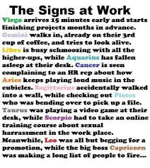 Meme Zodiac Signs - the signs on the job my site