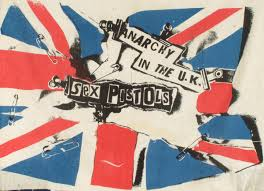 Anarchy Flag Punk London 1977 Collectible Dry Magazine