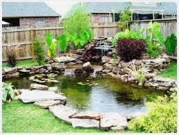 backyards mesmerizing garden ponds big koi fish pond design