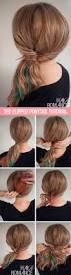 the best step by step ponytail tutorials