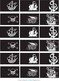 pirate printables u2013 crafted party
