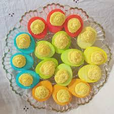 easter deviled egg plate just helen technicolor deviled eggs just helen